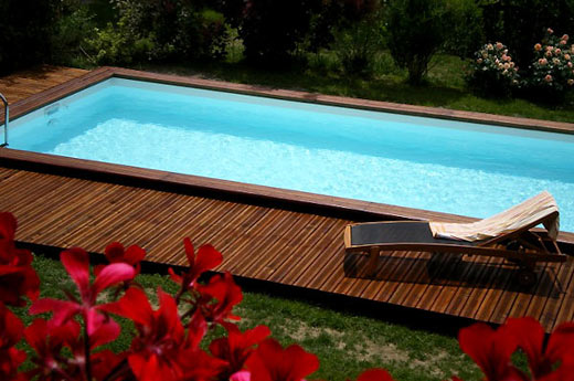 Piscines piscine techni for Piscine bois 7x3